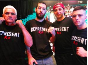 Richard Perez(Nate Diaz's striking coach), Layzie, PVW, AW